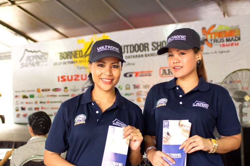 VOLTRONIC Official Lubricant Borneo Safari 2013