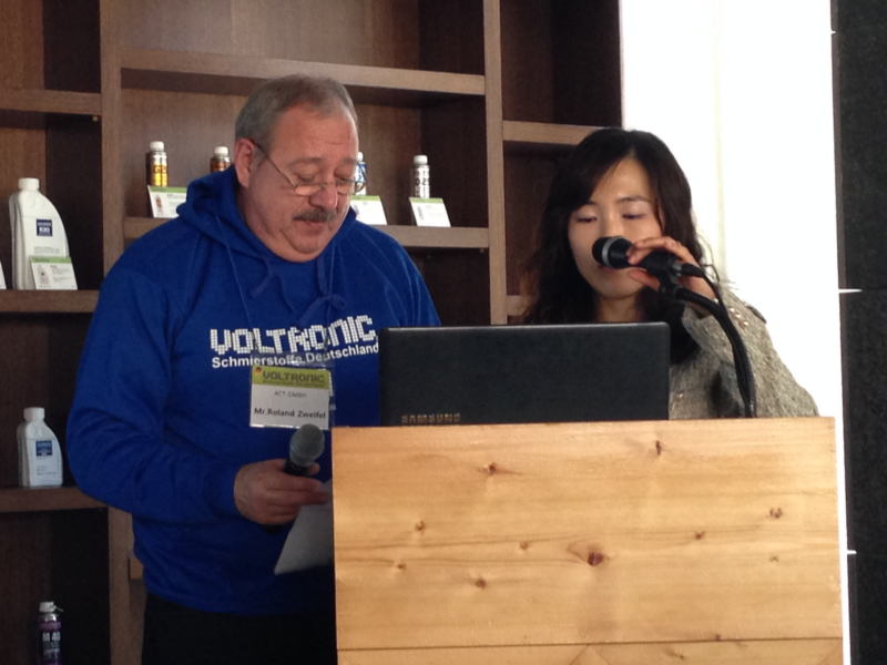 VOLTRONIC Korea Conference 2014
