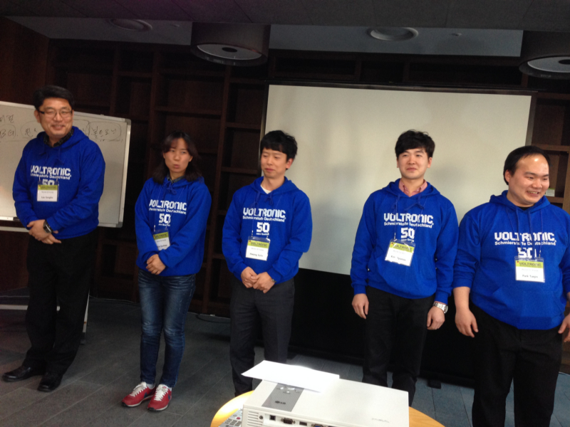 VOLTRONIC Korea Conference 2014