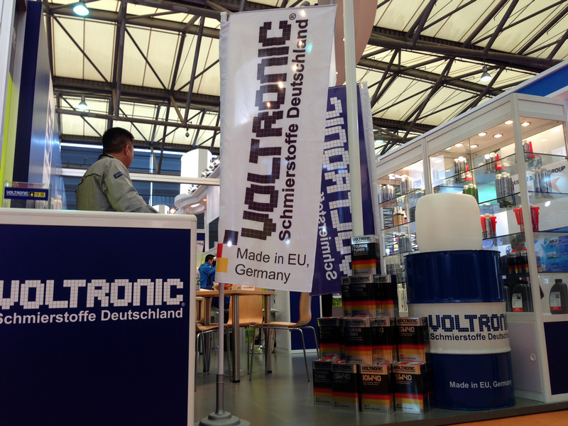 VOLTRONIC debut in Automechanika Shanghai 2013