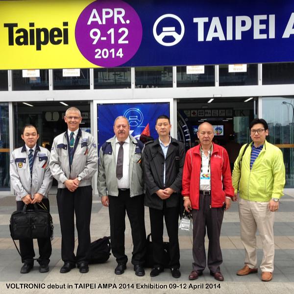 VOLTRONiC Taipei AMPA 2014 Taiwan
