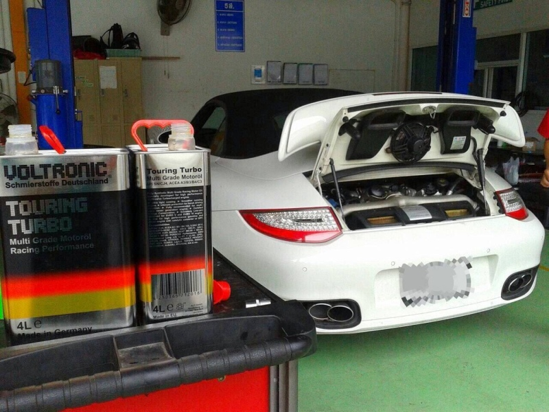 VOLTRONIC Touring TURBO motor oil review