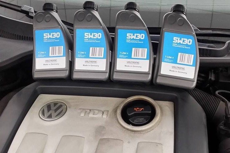 voltronic 5W30 engine oil review A007