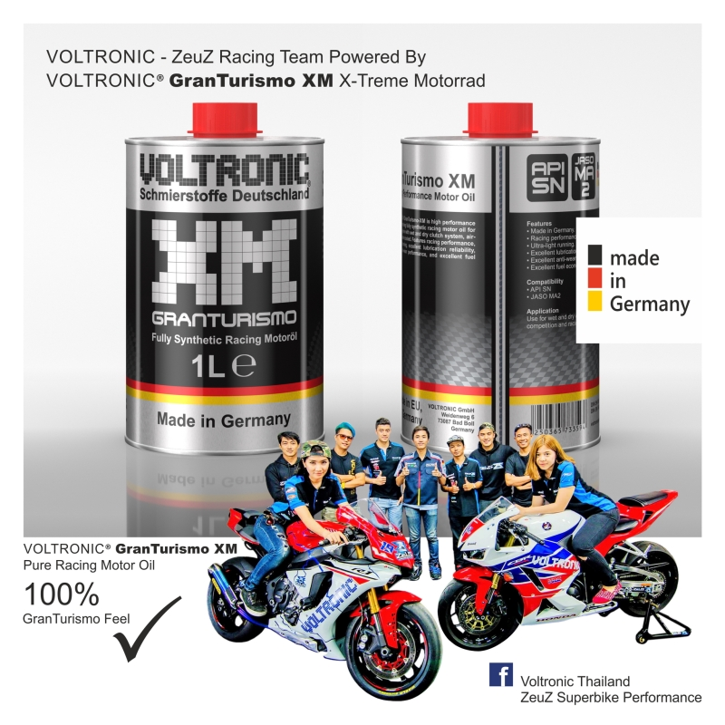 VOLTRONIC Granturismo XM Racing Motor Oil