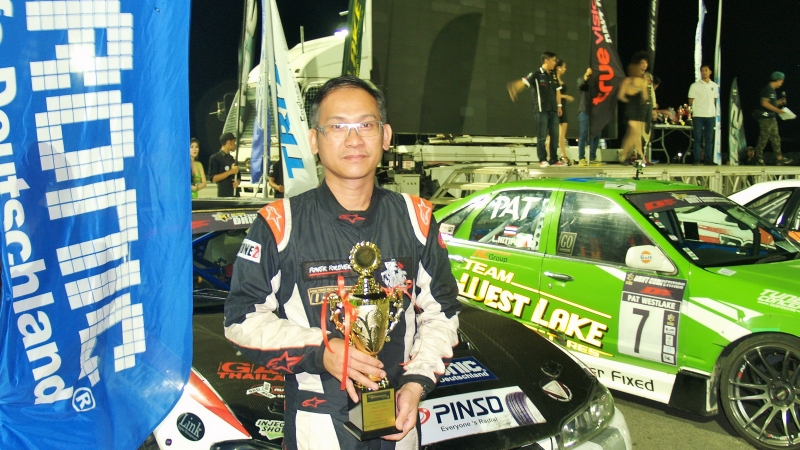 VOLTRONIC Thailand debut at M-STORM Drift Competition 2015 Round 3