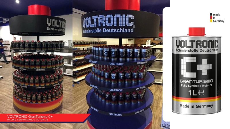 voltronic engine oil review - voltronic c+ granturismo 06