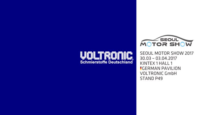 Voltronic Germany, Voltronic GmbH, Seoul Motor Show 2017
