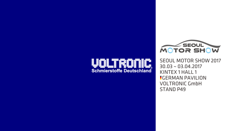 Voltronic Germany, Voltronic GmbH, Seoul Motor Show 2017
