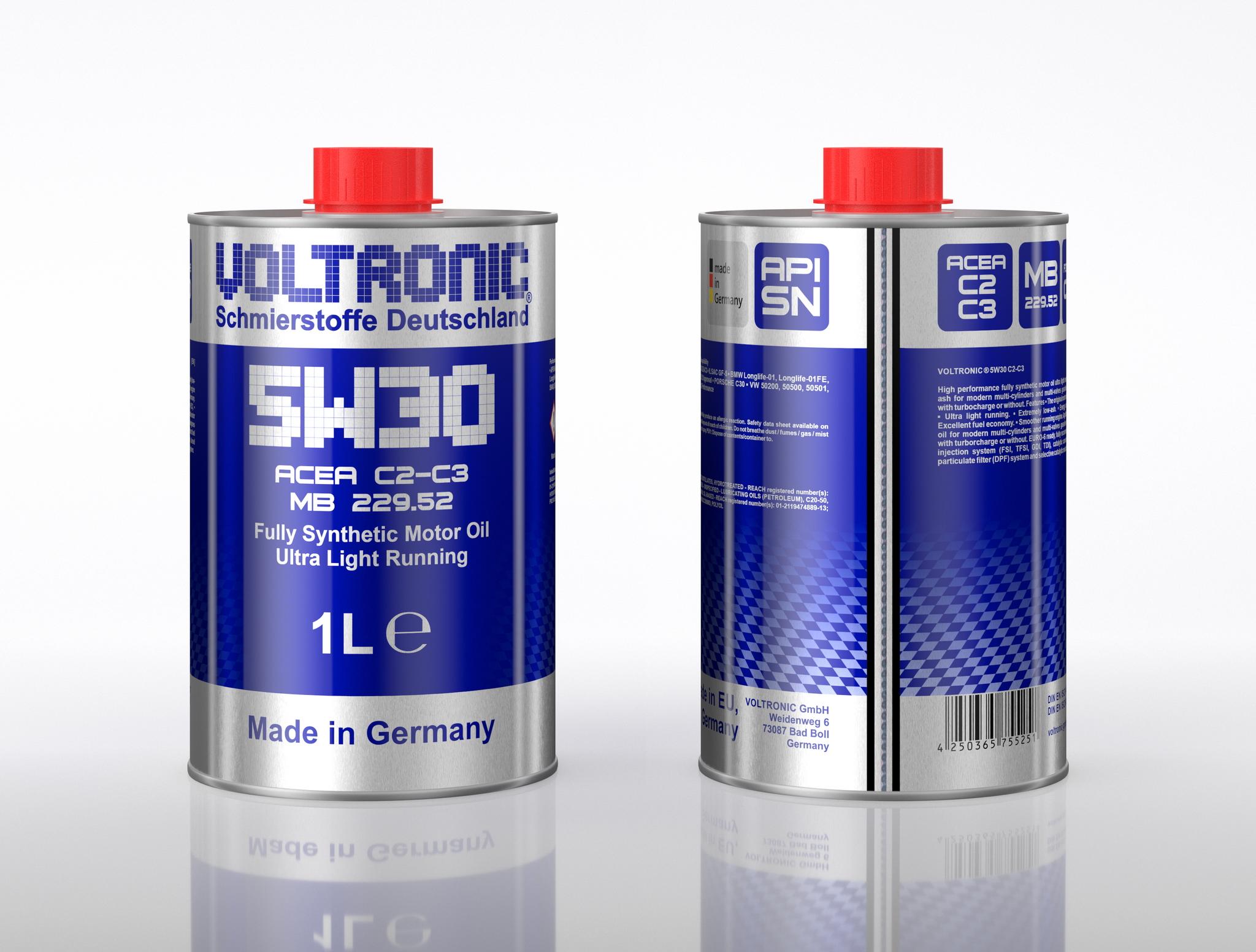 voltronic 5w30 c2-c3