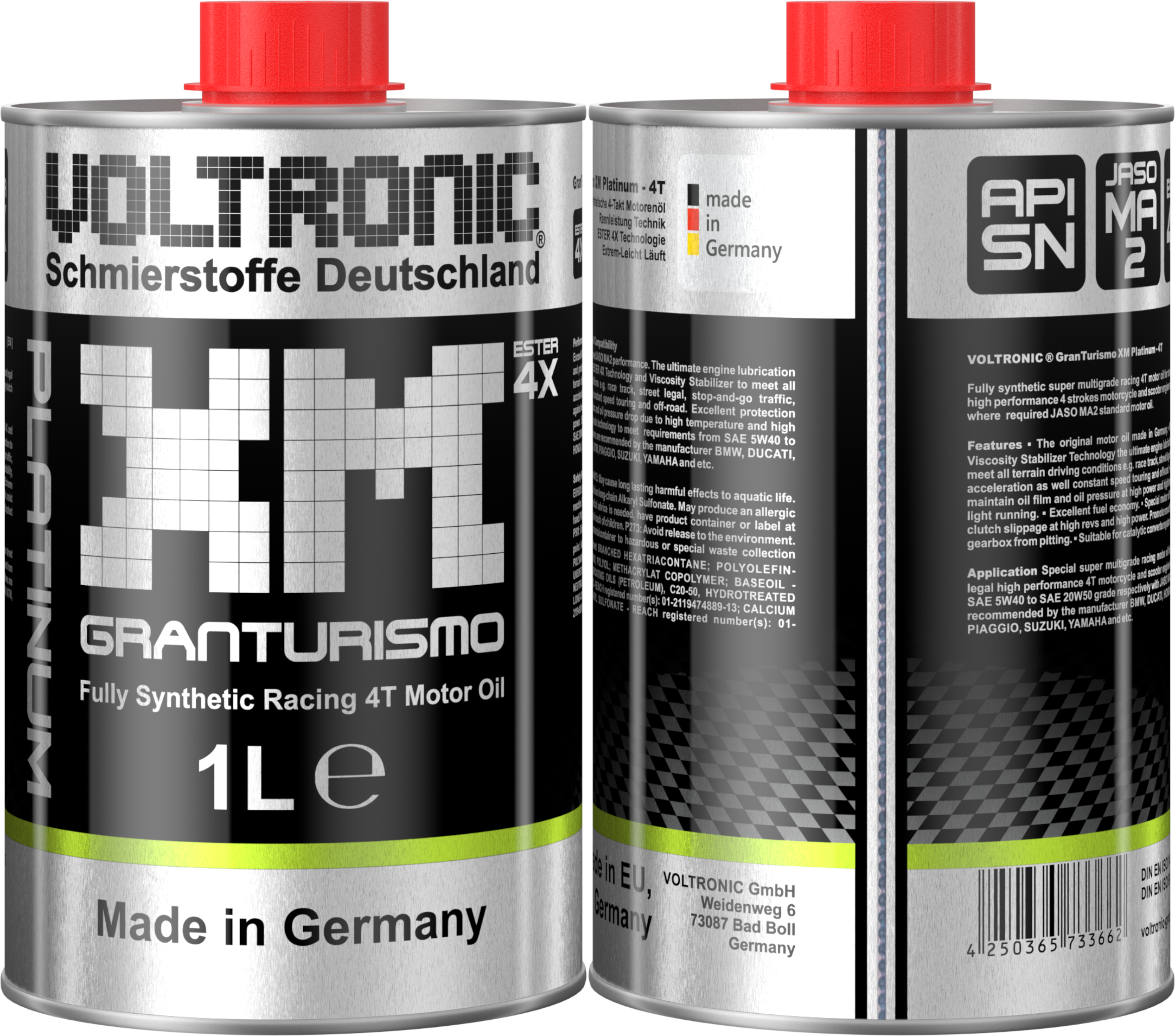 voltronic xm platinum oil