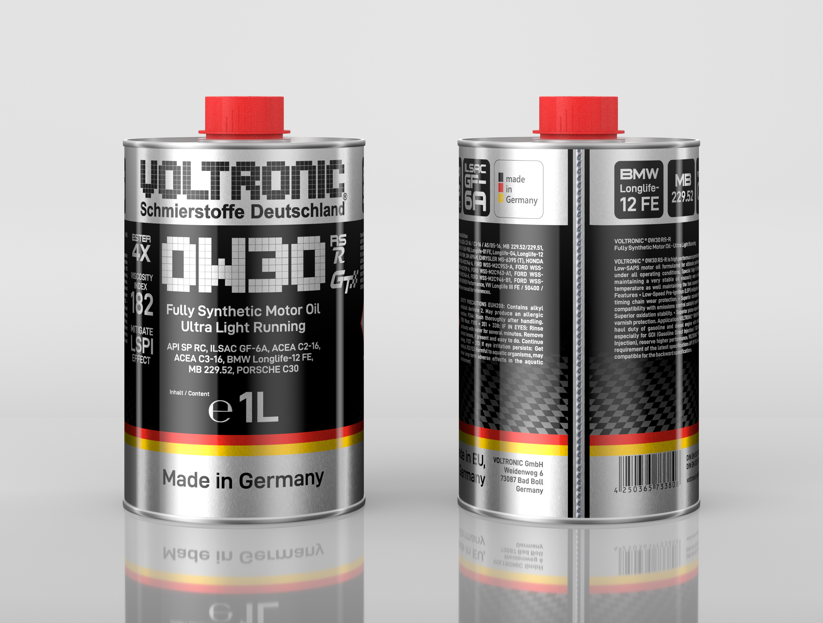 voltronic 0W30 RS-R motor oil
