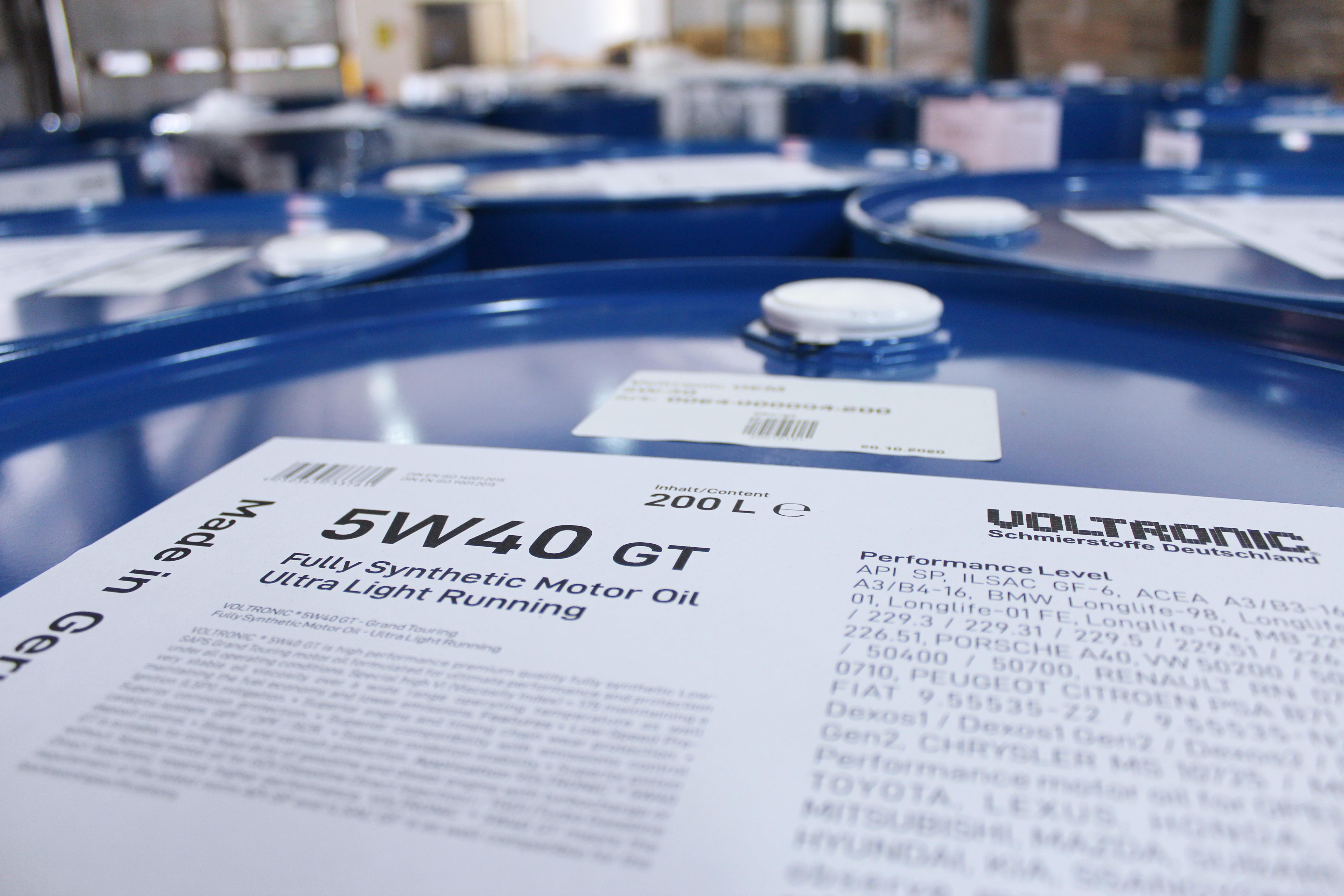 voltronic 5w40 gt motor oil